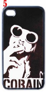 Kurt Cobain Nirvana iPhone 4 Hard Case