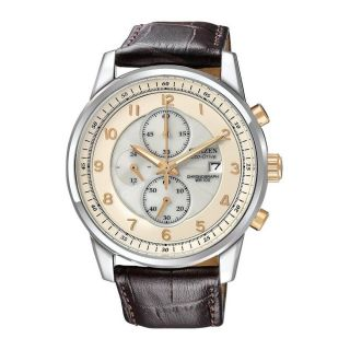 Citizen Chronograph Mens Stainless Steel Case Chronograph Date Watch
