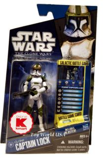 Star Wars The Clone Wars Clone Captain Lock K Mart Exclusive