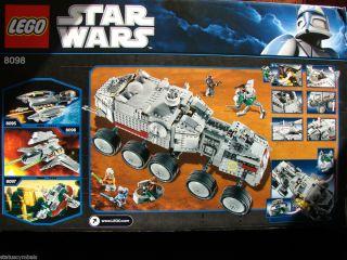 LEGO Stars Wars Clone Turbo Tank Lego 8098 1141 Pcs Lego Star Wars