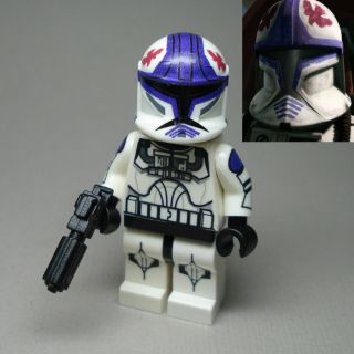 Lego Star Wars Clone War Clone Trooper Pilot Hawk