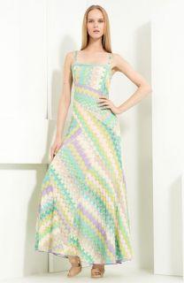 Missoni Paneled Knit Maxi Dress