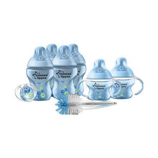 Tommee Tippee Closer to Nature Newborn Decorated Starter Set Blue