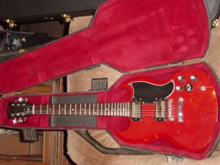 84 Gibson SG Special electric guitar,Tim Shaw era, Gibson OHC,rare 3