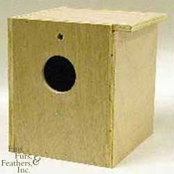North American Pet Wooden Cockatiel Nesting Box for US