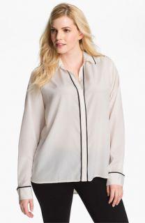 Kenneth Cole New York Long Sleeve Shirt (Plus)