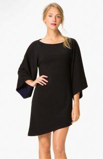 Abi Ferrin Faye Bell Sleeve Asymmetrical Sweater Dress