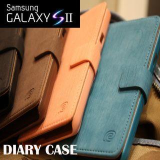 NEW SAMSUNG GALAXY S2 CASE i9100 PHONE CODI DIARY CASE COVER