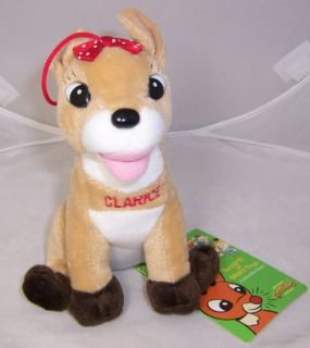 Clarice Island of Misfit Toys Plush Doll Embroidered Name Rudolph