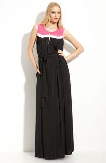 Jay Godfrey Cezanne Colorblock Jersey Dress