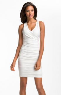 Nicole Miller Stretch Cotton Sheath Dress