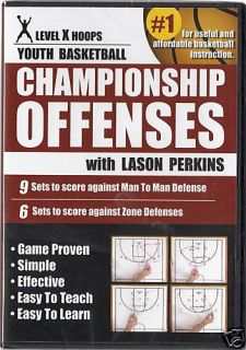 Coaching Basketball Dvd Basic Man & Zone Offense video
