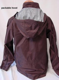 SZ M NEW WOMENS ARIAT WATER PROOF RIP STOP HOODED RIDING JACKET #129