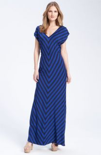 FELICITY & COCO Stripe Jersey Maxi Dress ( Exclusive)