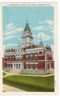 Tennessee TN Clarksville Montgomery County Court House