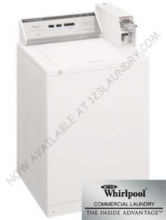 Whirlpool Heavy Duty Commercial Top Load Washer