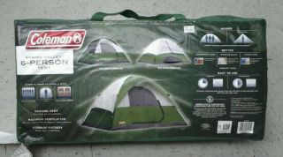 Coleman Spring Valley 6 Person Tent New Camping