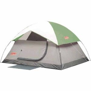 coleman meadow falls 3 person tent 200003954 camping hiking 8 x7 minty