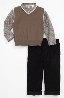 Wendy Bellissimo Shirt, Vest & Corduroy Pants (Infant)