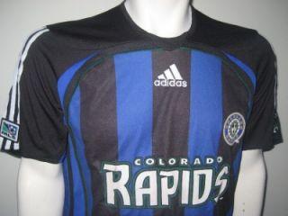 MLS Adidas Colorado Rapids Adult Medium Major League Soccer Jersey