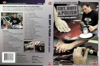 Cut Buff Polish DVD Detail Car Auto Paint Dura Block 3M