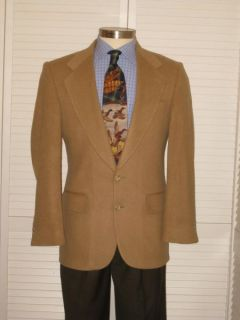 Vtg Harris Tweed Mens Elbow Patch Houndstooth Sport Coat Jacket Blazer