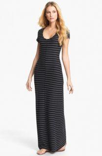 Tart Lizbeth Short Sleeve Stripe Maxi Dress