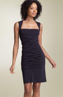 Nicole Miller Tidal Pleat Sheath Dress