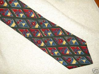Very Sharp Colours Silk Tie by Alexander Julian
