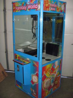 Fantasy World Candy Crane with Pusher Arcade Claw Game Machine WOW