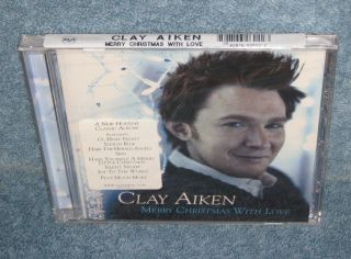 Clay Aiken Mery Christmas with Love Music Audio CD New