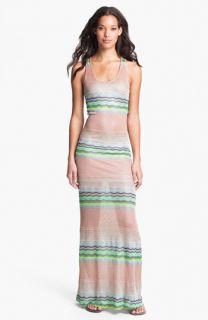 Young, Fabulous & Broke Hamptons Zigzag Stripe Maxi Dress