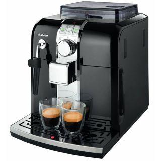 Saeco Syntia Focus Fully Automatic Espresso & Coffee Machine  Black