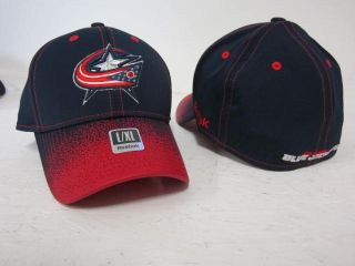 product columbus blue jackets reebok flex fit hat cap l xl