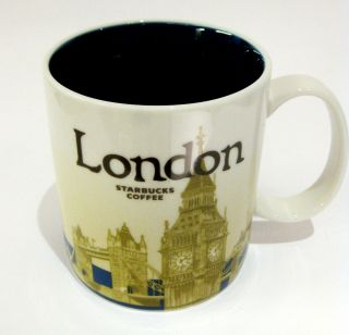 Starbucks London Mug Cup Coffee Tea Limited Edition Collectibles