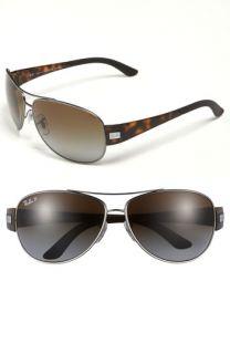 Ray Ban Aviator 63mm Polarized Sunglasses