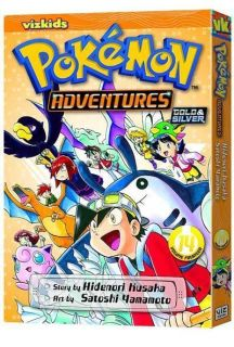 Pokemon Adventures Vol 14 Manga Comic Book
