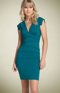 Nicole Miller Silk Twill Sheath Dress