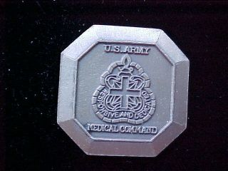 Old US Army Medical Command Challenge Coin