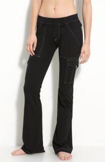 Hard Tail Cargo Pocket Flare Leg Pants