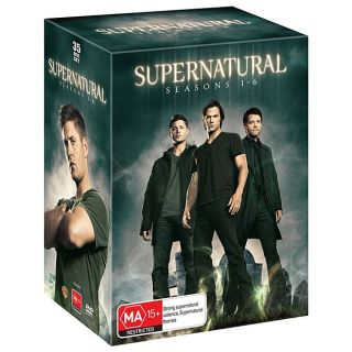 Supernatural Complete Season 1 6 Box Set 35 Discs