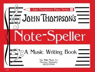 Note Speller Piano Music Writing John Thompson Book New