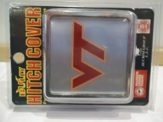 NCAA Virginia Tech Hitch Cover College Football Hokies Trailer Hitches