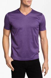 BOSS Black Eraldo Regular Fit V Neck T Shirt