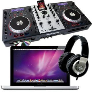 Numark Mixdeck & Apple Computer DJ Package Computer DJ Package
