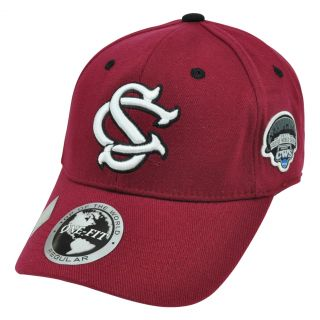 Carolina Gamecocks Top of The World CWS One Size Flex Fit Hat Cap