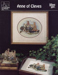 anne of cleves cottage fever cross stitch pattern