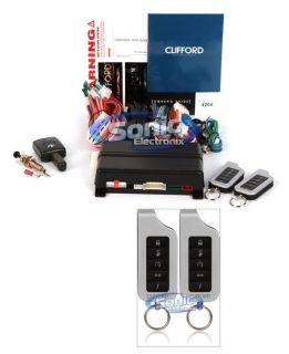 Clifford Matrix 1 3X 4204X 2 Way Vehicle Keyless Entry Remote Start