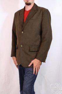ROUNDTREE & YORKE Clifton Brown Mens Blazer Jacket Coat New $160 size