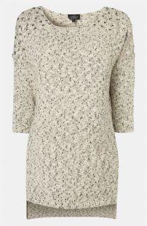 Topshop Maternity Stud Shoulder Sweater Tunic